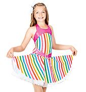 Tutti Fruity Child Halter Dress
