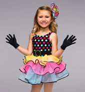 Fiesta Child 3 Tier Dress