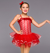 Girls Jingle Bell Rock Tutu Dress
