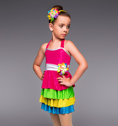 Gumdrops and Lollipops Girls 4-Tier Dress