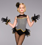Showgirl Girls Leotard Costume