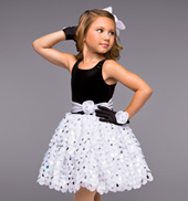 Steppin Out Girls Tutu Dress
