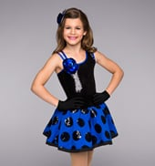 Oh Snap! We Love to Tap! Girls Tutu Dress