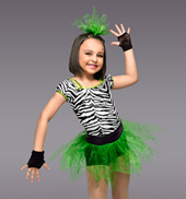 Born To Be Wild Girls Costume Set
