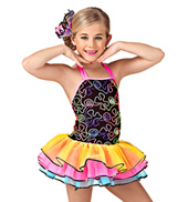 Shake Shake Shake Senora Girls Tutu Dress
