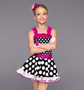 Darling Dots Girls Costume Set