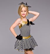 Lullaby of Broadway Girls Costume Set