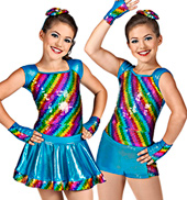 Rainbow Bright Girls Costume Set