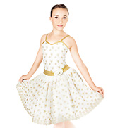 Fields of Gold Child Romantic Tutu Dress