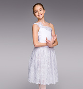 Girls Snow Queen Romantic Tutu Dress