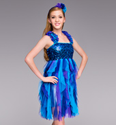 Adult Midnight Sky Lyrical Dress