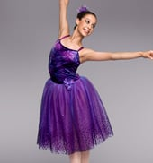 Purple Mist Adult Romantic Tutu Dress