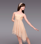 Daybreak Girls Asymmetrical Dress