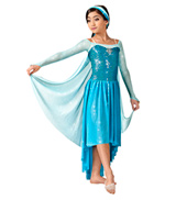 Let It Go Girls Long Sleeve Dress
