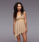 Golden Goddess Adult Lyrical Dress