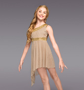 Golden Goddess Girls Lyrical Dress