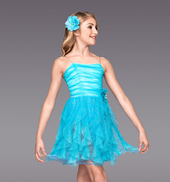 Falling Slowly Girls Spiral Dress