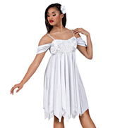 Snow Angel Adult Lyrical Dress