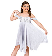 Snow Angel Girls Lyrical Dress