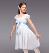 Clara Girls Puff Sleeve Dress