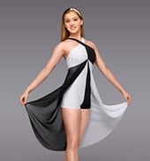 Duality Adult Hi-Lo Dress