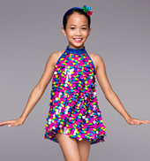 Disco Dots Girls Tunic Dress