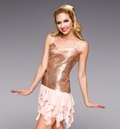 Jazz Age Adult Sequin Dress
