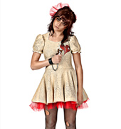 Zombie Jamboree Womens Costume Set