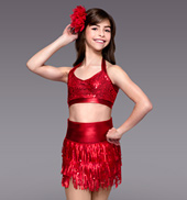 Red Hot Child Costume Set
