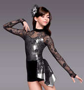 Moon River Girls Unitard Costume