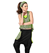 Toxic Womens Costume Set