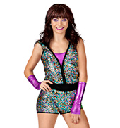 Flaunt It Adult Romper Costume