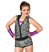 Flaunt It Girls Romper Costume
