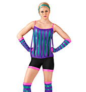 Derby Girl Adult Unitard Costume