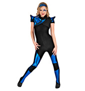 Supernova Girl Adult Unitard Costume
