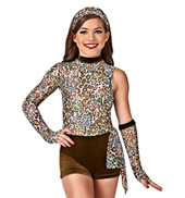 Fearless Girls Unitard Costume