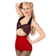 Pin Up Adult Unitard Costume