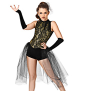 Run the World Girls Unitard Costume