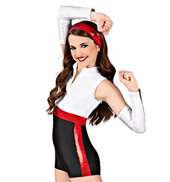 Welcome to New York Girls Unitard Costume