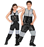 Bring the Action Child Unisex Costume Set