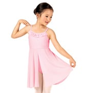 Girls Ruffle Camisole Dress