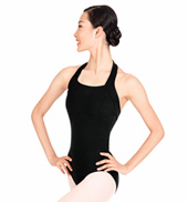 Adult Halter Cotton Leotard