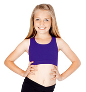 Child Racer Back Bra Top