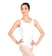 Adult Scoop Neck Tank Cotton Leotard
