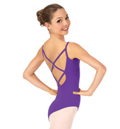 Adult Camisole Crisscross Back Leotard