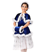 Girls Skaters Waltz Costume Set