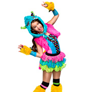 Wild Thing! Girls Costume Set