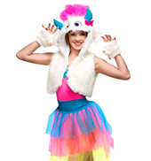 Snow Monster Adult Costume Set