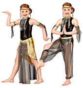 Arabian Nights Girls Costume Set