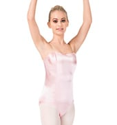 Adult Satin Basic Camisole Leotard